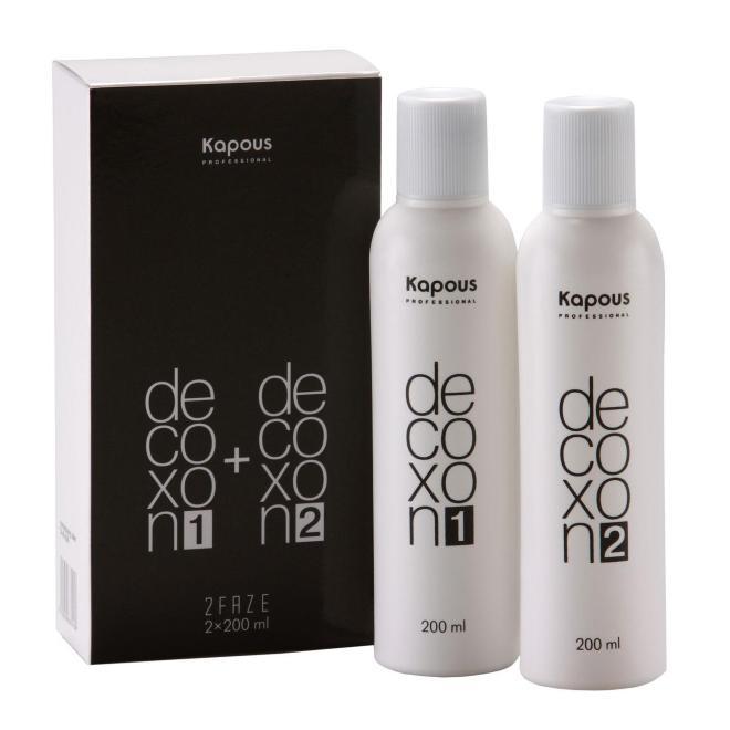 Купить Средство для снятия косметического цвета с волос Decoxon 2Faze, Kapous Волосы (Россия)