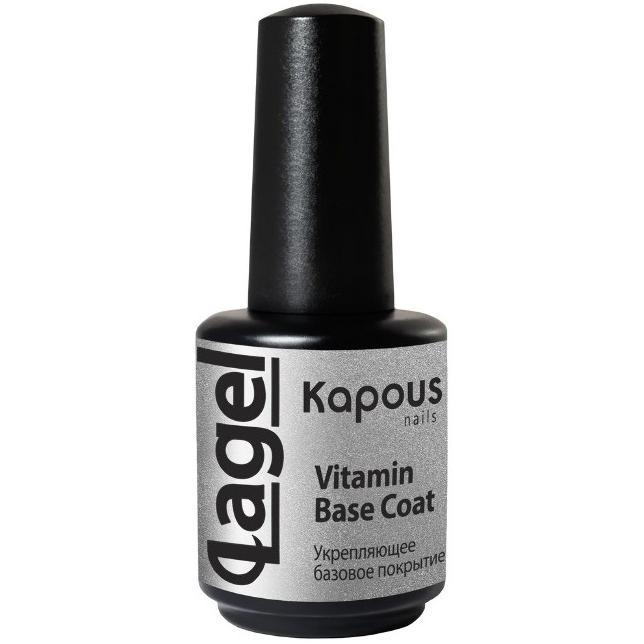 Купить Укрепляющее базовое покрытие Lagel Vitamin Base Coat, Kapous Руки (Россия)