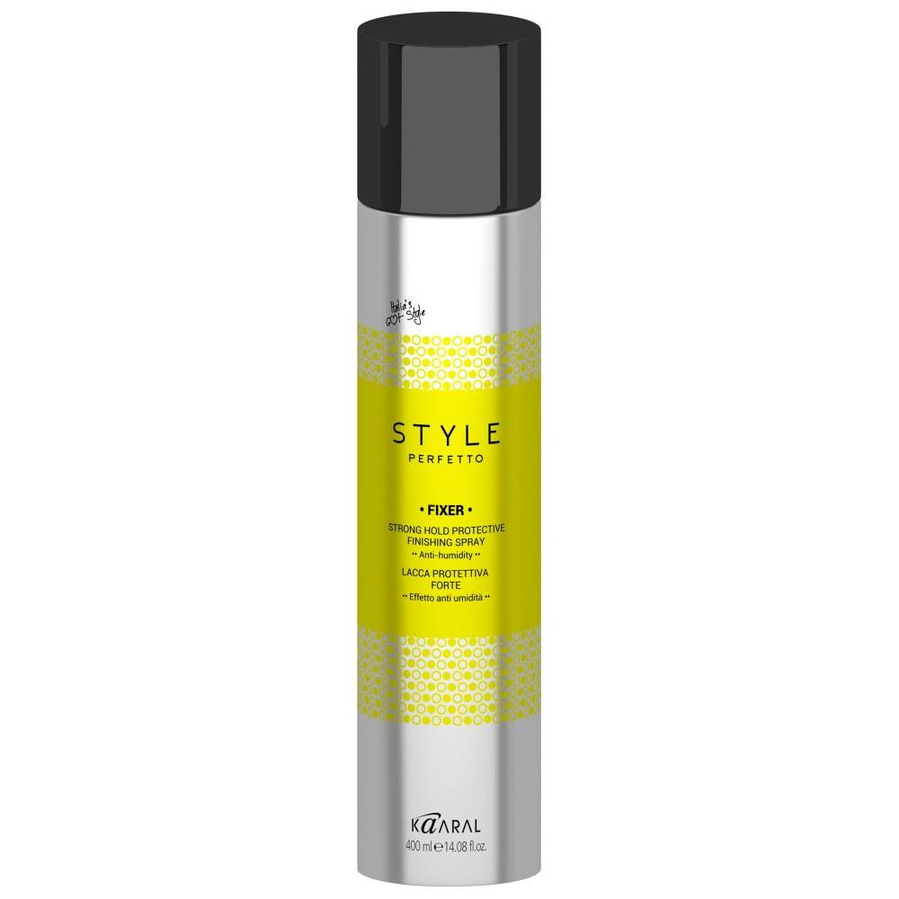 Купить Защитный лак для волос сильной фиксации Fixer strong hold protective finishing spray (15935, 400 мл), Kaaral (Италия)