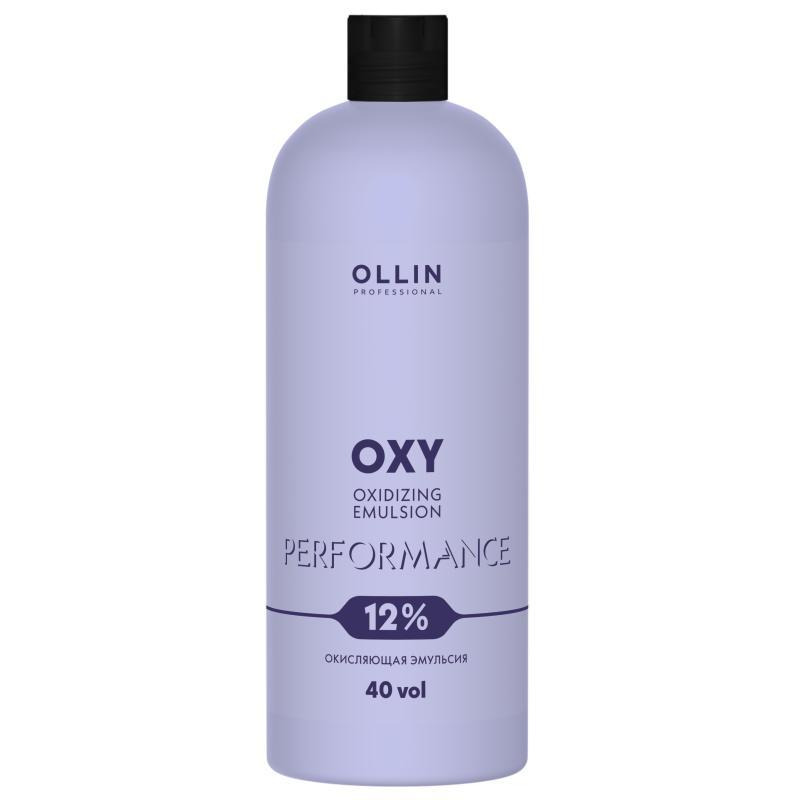 Купить Окисляющая эмульсия 12% 40vol. Oxidizing Emulsion Ollin Performance Oxy (сиреневая) (727243, 1000 мл), Ollin Professional (Россия)