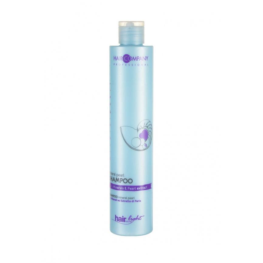 Купить Шампунь с минералами и экстрактом жемчуга Hair Light Mineral Pearl Shampoo (255879/LBT14050, 250 мл), Hair Company Professional (Италия)