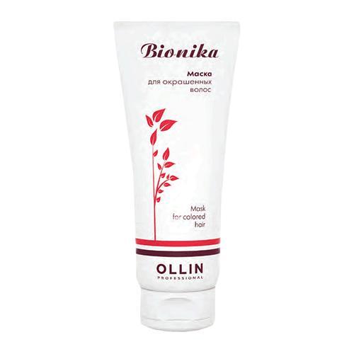 Маска для окрашенных волос Яркость цвета Ollin BioNika Ollin Professional