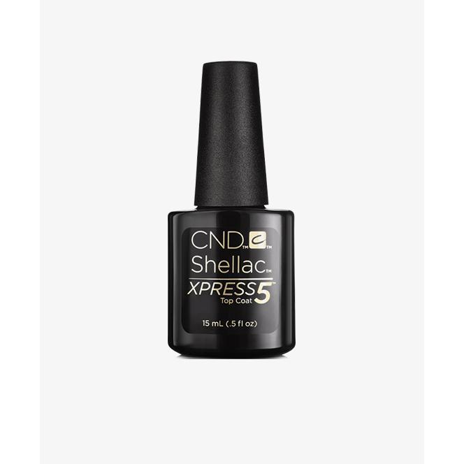 Купить Верхнее покрытие CND Shellac Xpress5 Top Coat (90929, 15 мл), CND (США)