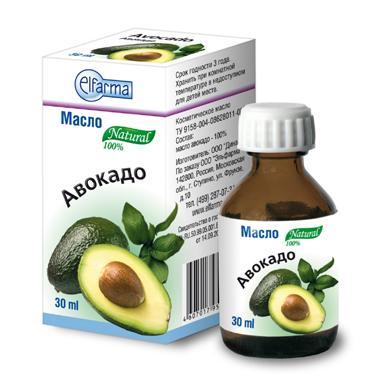 Купить Жирное масло Авокадо Elfarma, Elfarma (Россия)