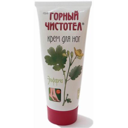 Купить Крем для ног Горный чистотел, Elfarma (Россия)