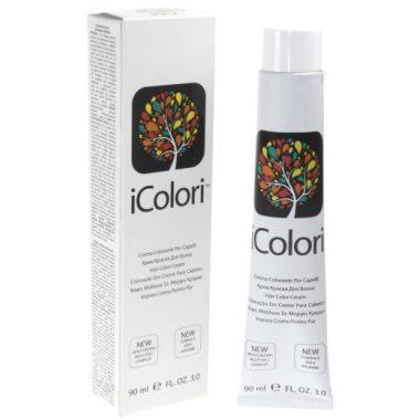 Купить Крем-краска для волос Icolori (16801-9.93, 9.93, лесной орех очень светлый блондин, 90 мл, Светлые оттенки), Kaypro (Италия)