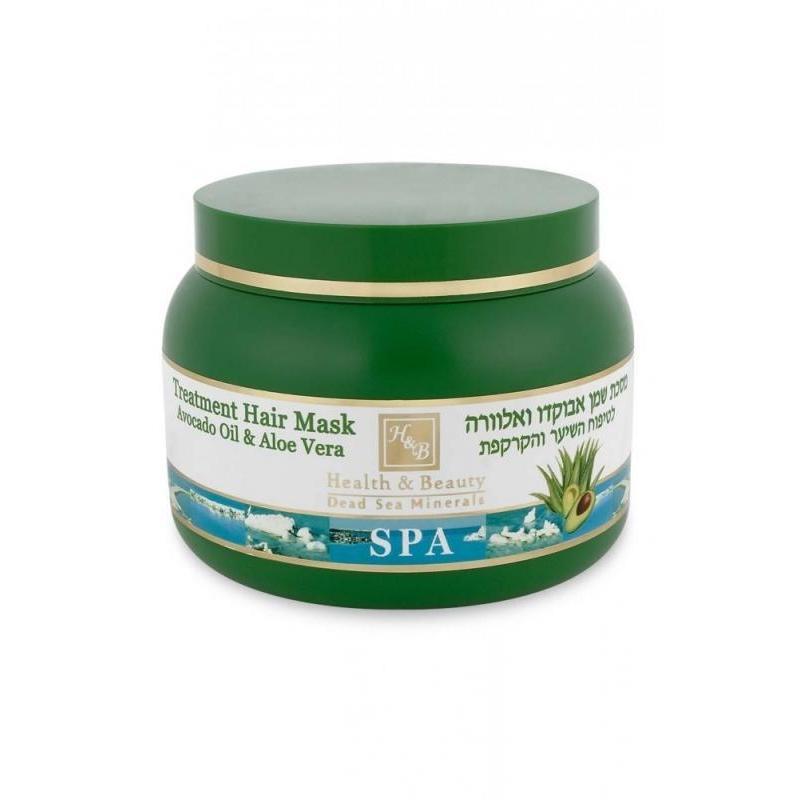 Купить Маска для волос c маслом авокадо и алоэ, Health & Beauty (Израиль)
