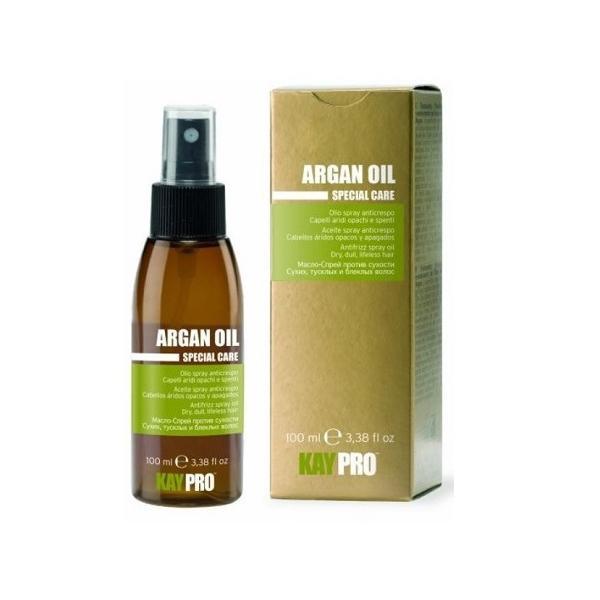 Масло-спрей с аргановым маслом против сухости волос фото