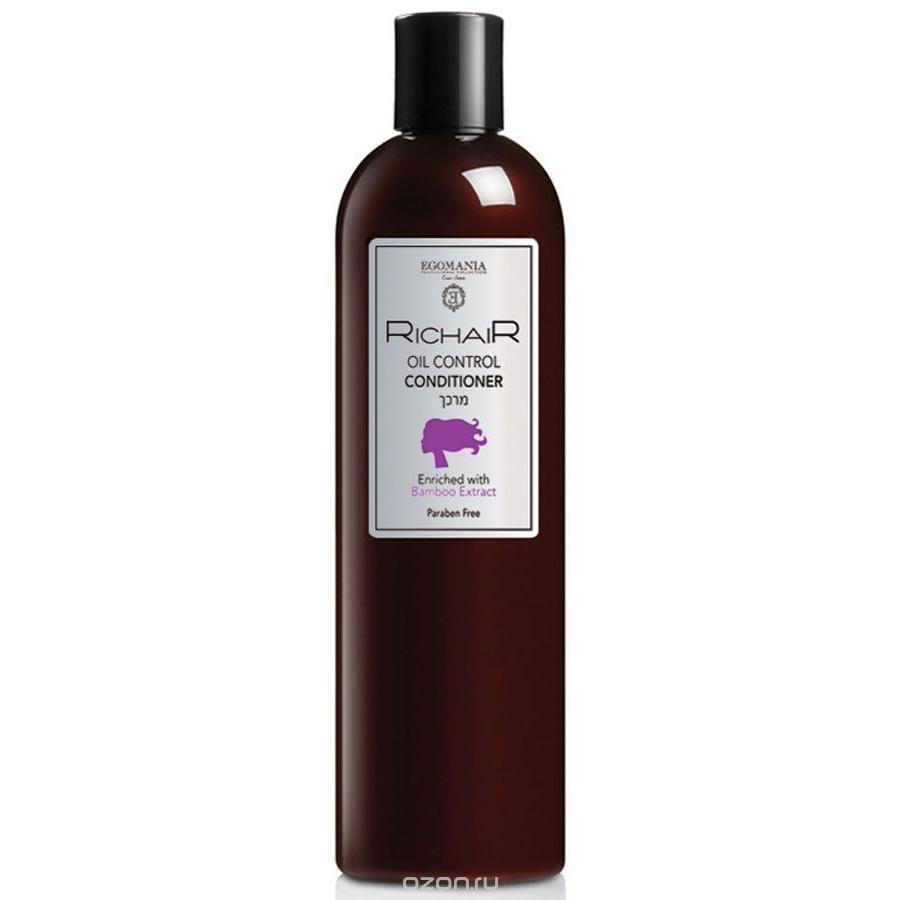Купить Кондиционер для контроля жирности кожи головы с экстрактом бамбука Richair, Egomania (Израиль)