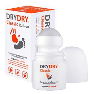 Купить Антиперспирант длительного действия от обильного потоотделения Dry Dry Classic Roll-on, Dry Dry(Швеция)
