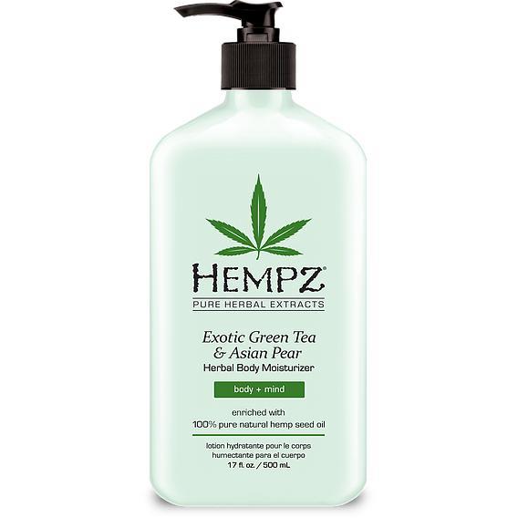 Увлажняющее молочко для тела Зеленый чай и Груша, Hempz (США)  - Купить