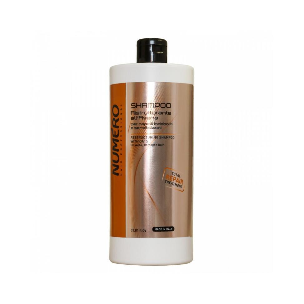 Шампунь для ослабленных и чувствительных волос Numero Restructuring (B080081, 300 мл)