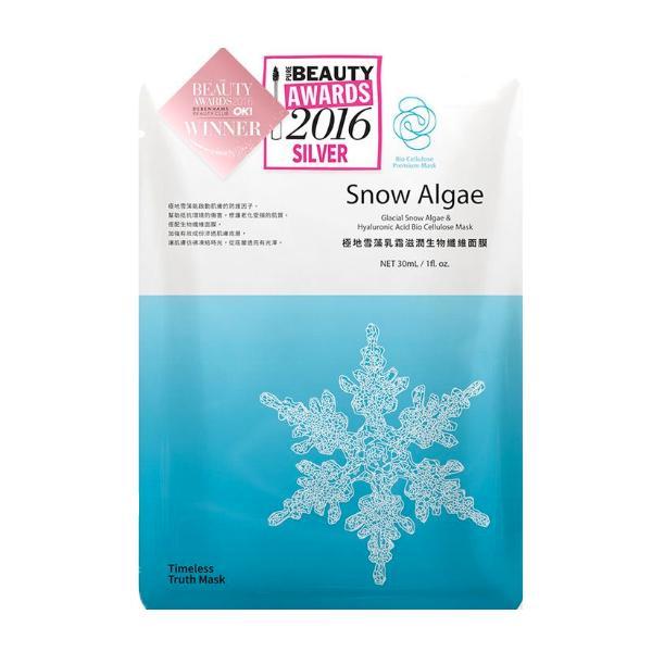 Купить Маска со снежными водорослями и гиалуроновой кислотой Glacial Snow Algae & Hyaluronic Acid Bio Cellulose Mask (T_TR_5, 30 мл), Timeless Truth (Япония/Тайвань)