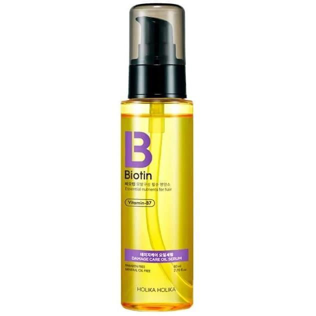 Масляная сыворотка для волос Holika Holika Biotin Damagecare Oil Serum фото