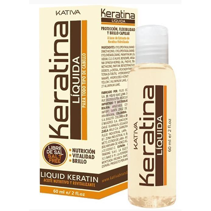 Жидкий кератин Kativa Keratina