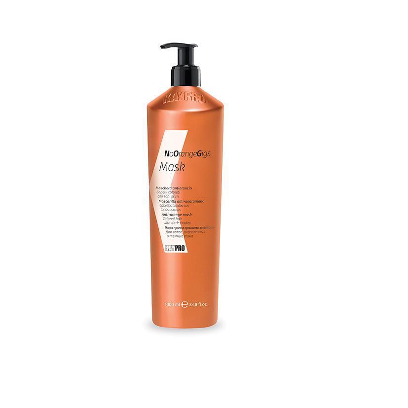 Маска против нежелательных оранжевых оттенков Mask no Orange gigs (20302, 1000 мл) фото