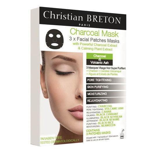 Купить Чёрная маска для глубокого очищения 20 мл х 3шт Christian Breton Paris, Christian Breton Paris (Франция)