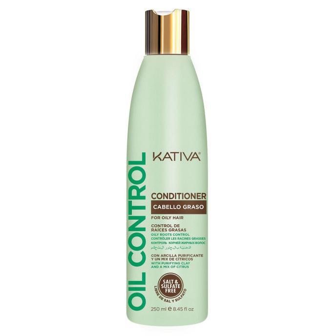 Кондиционер Контроль для жирных волос Oil Control Kativa