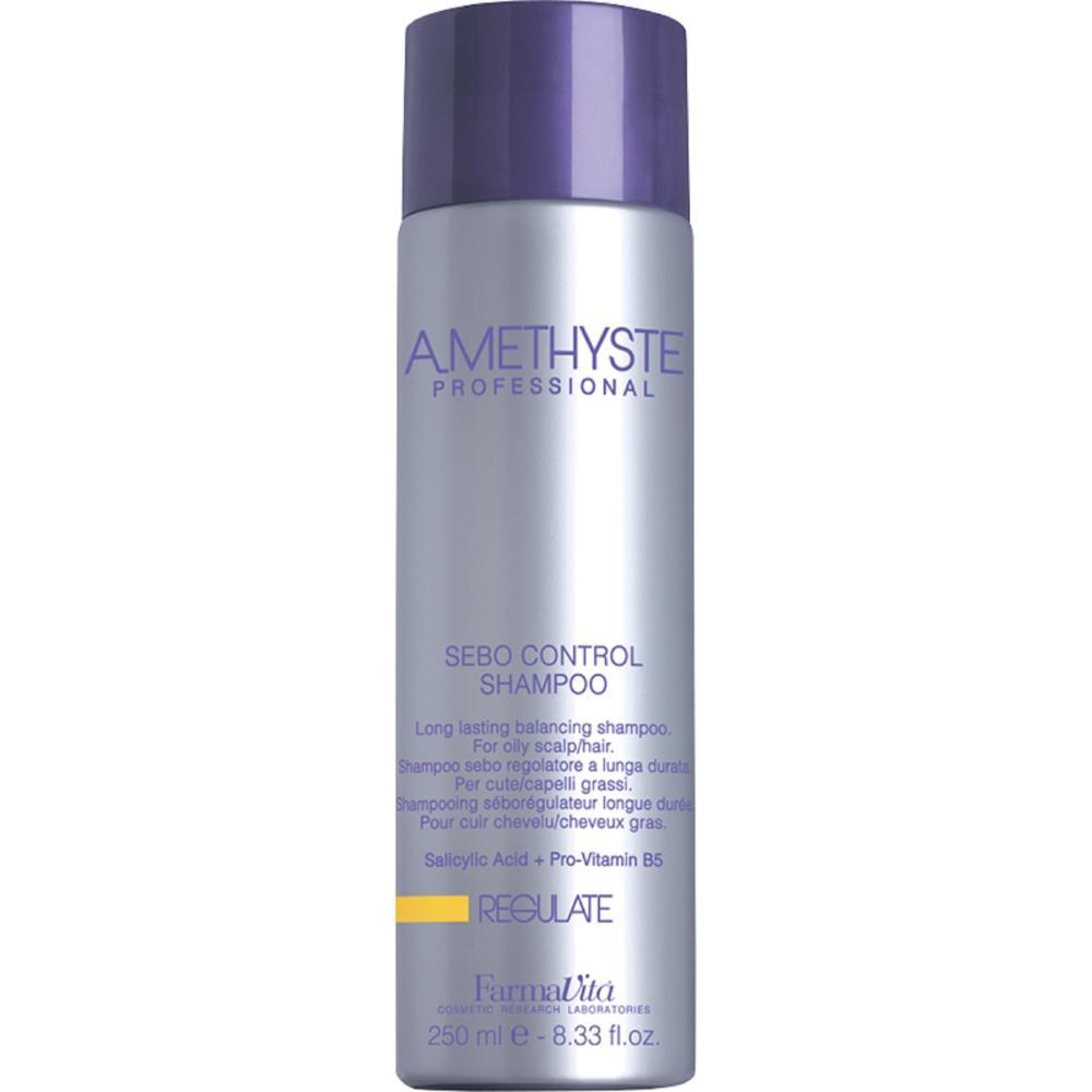 Шампунь для жирной кожи головы Amethyste Regulate Sebo Controll Shampoo (56011, 1000 мл) фото