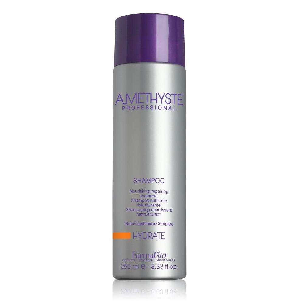 Купить Увлажняющий шампунь для сухих и поврежденных волос Amethyste Hydrate Shampoo (52001, 250 мл), FarmaVita (Италия)