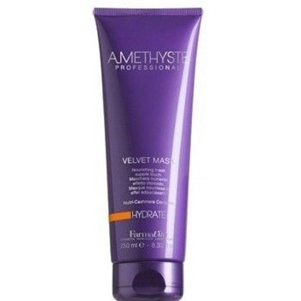 Купить Маска Бархатистая для сухих и поврежденных волос Amethyste Hydrate Mask, FarmaVita (Италия)