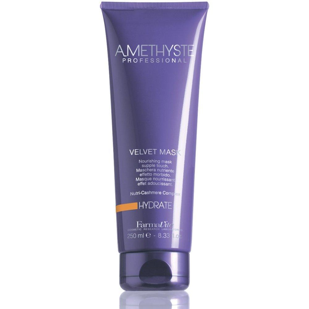 Купить Маска Бархатистая для сухих и поврежденных волос Amethyste Hydrate Velvet Mask, FarmaVita (Италия)