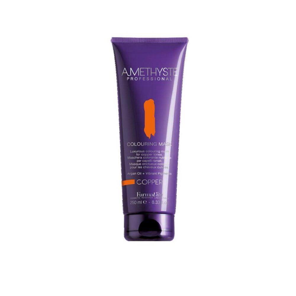 Купить Оттеночная маска для волос Amethyste Colouring Mask-Copper (57002, 57002, медь, 250 мл), FarmaVita (Италия)