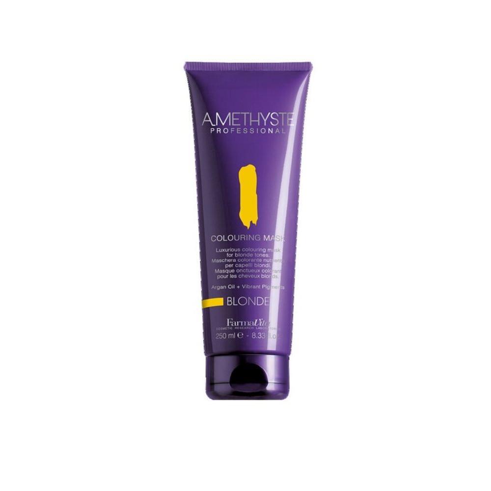 Купить Оттеночнаяя маска для волос Amethyste Colouring Mask-Blonde (57001, 57001, блондин, 250 мл), FarmaVita (Италия)