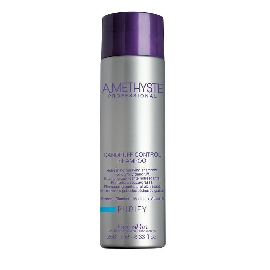 Купить Шампунь против перхоти Amethyste Purify Dandruff Controll Shampoo (55001, 250 мл), FarmaVita (Италия)