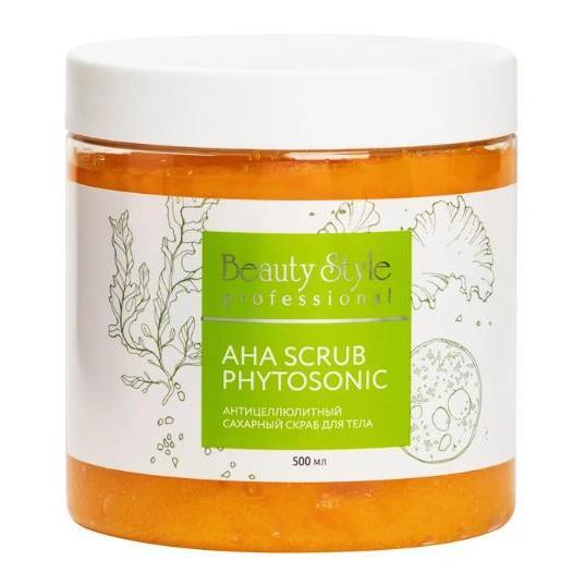 Антицеллюлитный сахарный скраб для тела AHA Scrub Phytosoniс Beauty Style