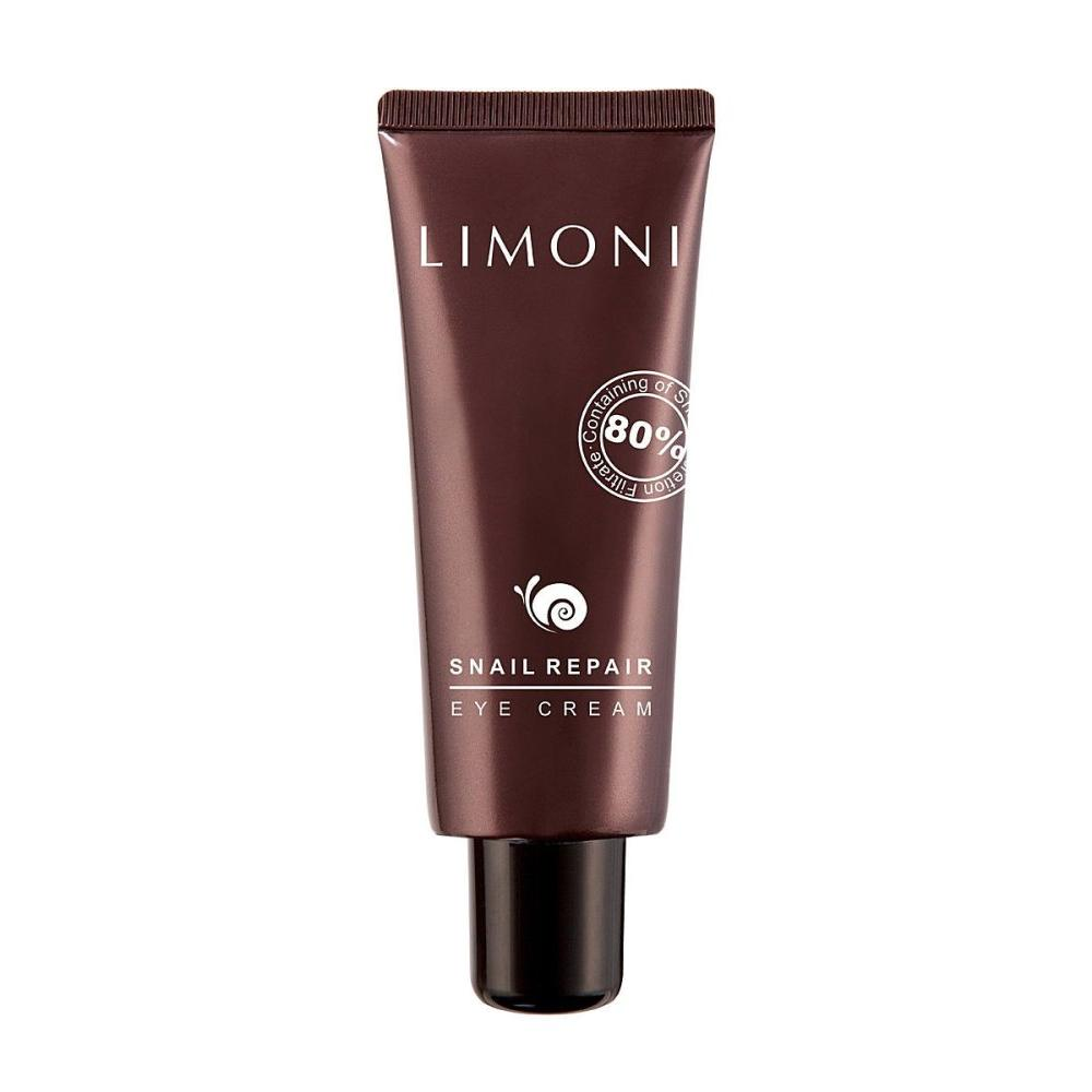 Купить Крем для век с экстрактом слизи улитки Snail Repair Eye Cream, Limoni (Италия/Корея)