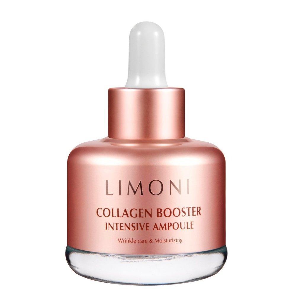 Купить Сыворотка для лица с коллагеном Collagen Booster Intensive Ampoule, Limoni (Италия/Корея)