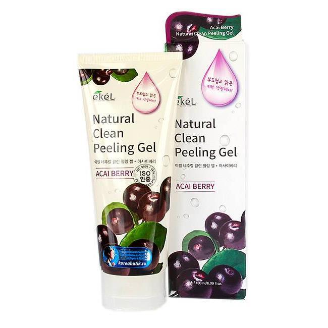 Купить Пилинг-скатка с экстрактом ягод асаи Ekel Acai Berry Natural Clean Peeling Gel, Ekel (Корея)