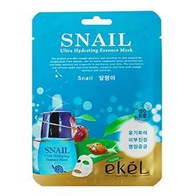 Купить Тканевая маска с улиточным муцином Ekel, Ekel (Корея)
