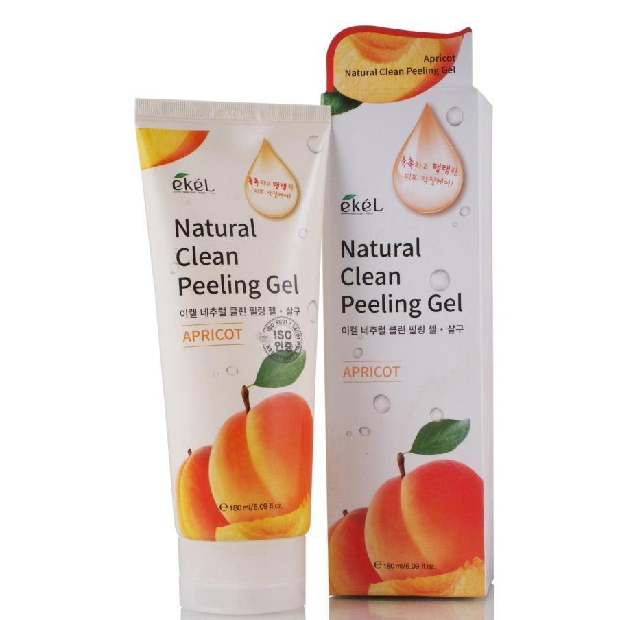 Купить Пилинг-скатка с экстрактом абрикоса Ekel Apricot Natural Clean Peeling Gel, Ekel (Корея)