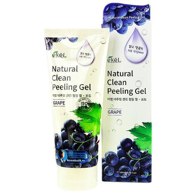 Купить Пилинг-скатка с экстрактом винограда Ekel Grape Natural Clean Peeling Gel, Ekel (Корея)