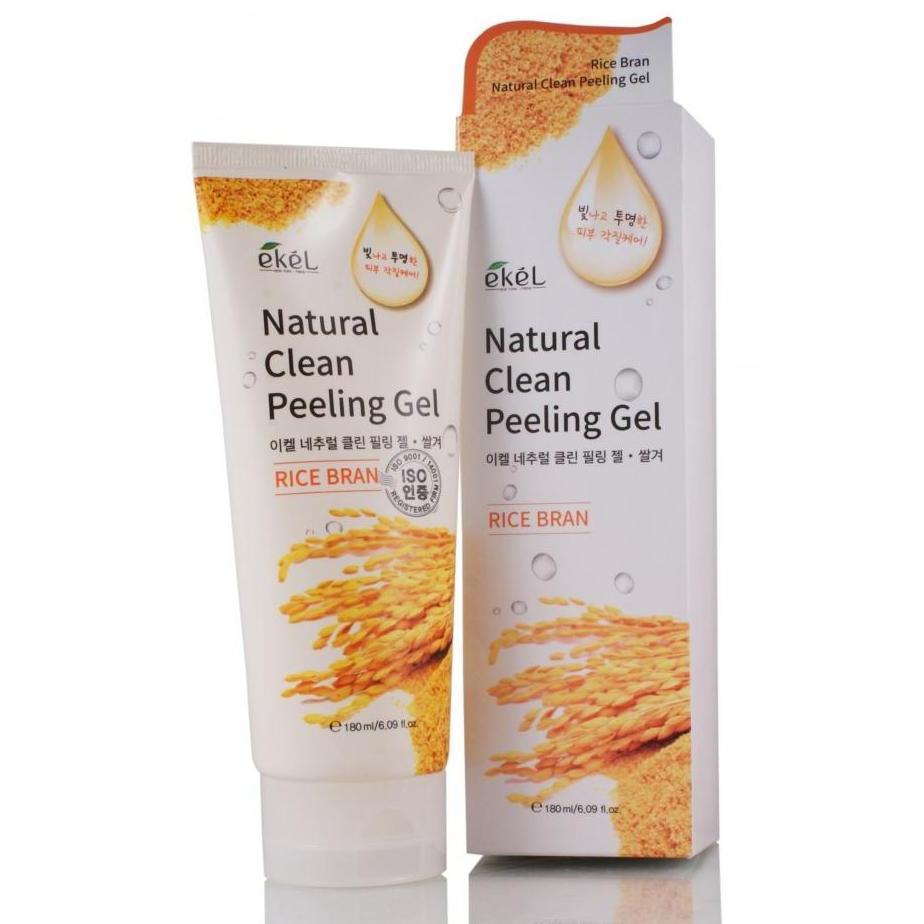 Купить Пилинг-скатка с экстрактом коричневого риса Ekel Rice Bran Natural Clean Peeling Gel, Ekel (Корея)