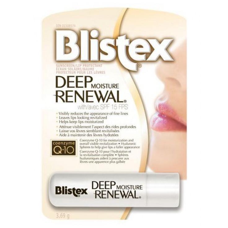 Бальзам для губ Глубокое обновление Blistex Deep Renewal