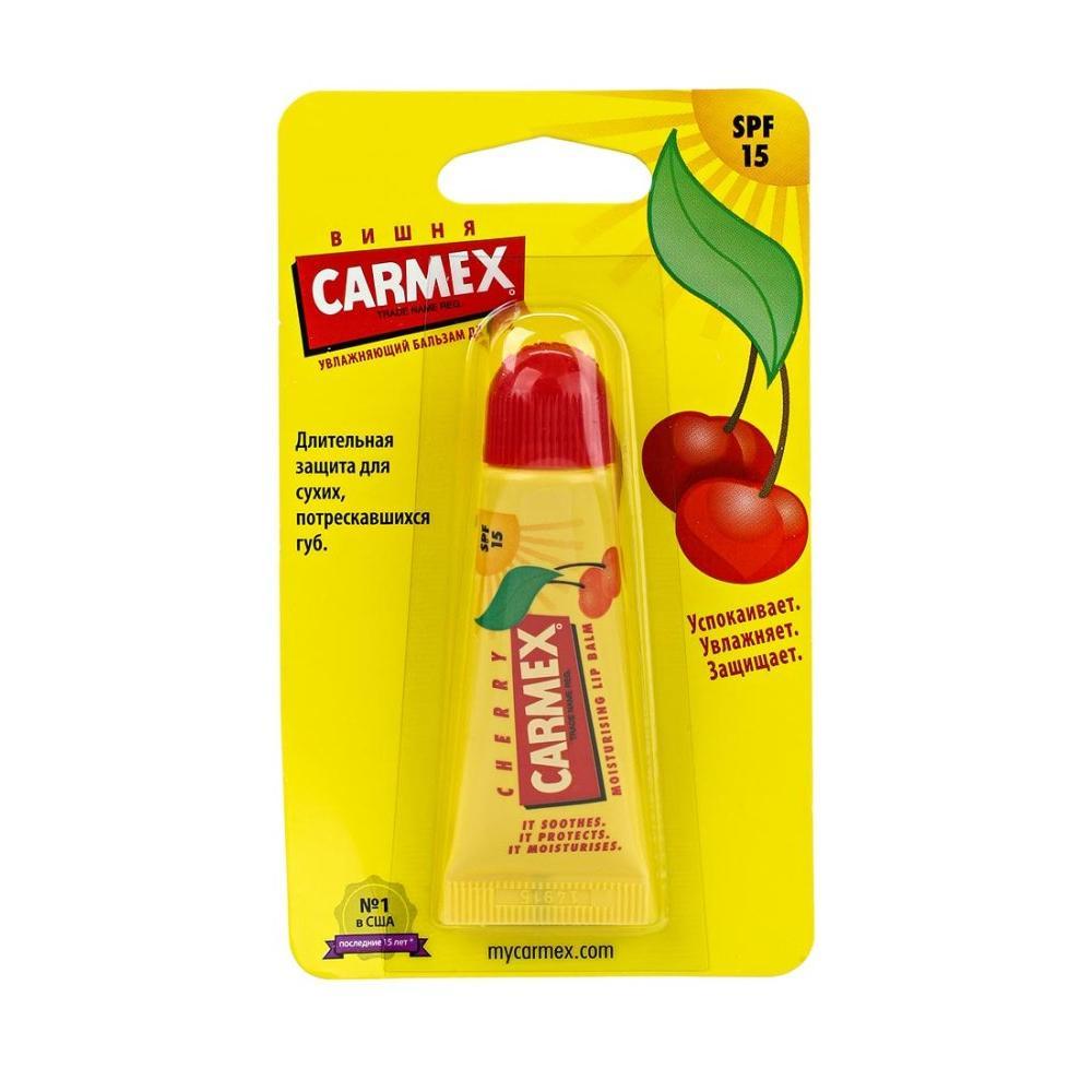 Бальзам для губ Вишня в тубе Carmex Cherry