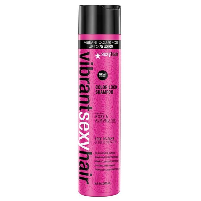 Купить Шампунь для сохранения цвета Color Lock Shampoo (50 мл, 41SHA01), Sexy Hair (США)