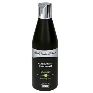 Восстанавливающий шампунь для вьющихся волос с экстрактом черной икры фото