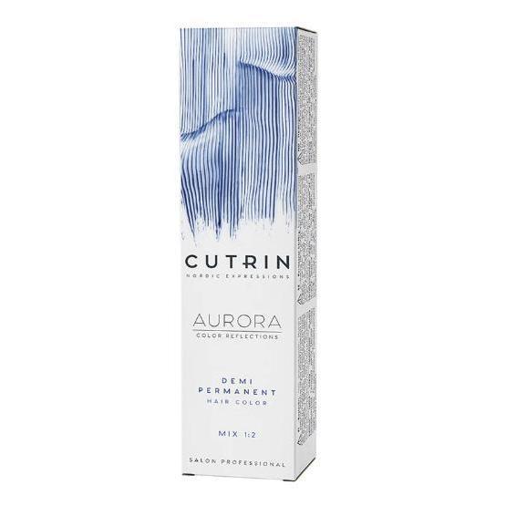 Крем-краска без аммиака Cutrin Aurora (CUH002-54776, 3.0, Темно-коричневый, 60 мл, Базовая коллекция оттенков) фото