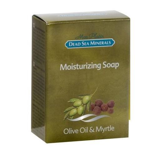Увлажняющее мыло с оливковым и миртовым маслом, Mon Platin (Израиль)  - Купить