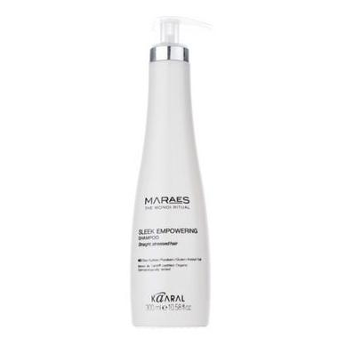 Купить Восстанавливающий шампунь для прямых поврежденных волос Maraes Sleek Empowering Shampoo (300 мл, 1310), Kaaral (Италия)