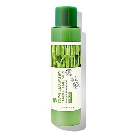 Увлажняющая гипоаллергенная эмульсия с экстрактом бамбука Jeju Watery Bamboo Emulsion фото