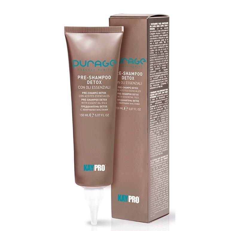 Купить Крем-детокс для кожи головы на основе эфирных масел Pre-Shampoo Detox Essential Oils, Kaypro (Италия)