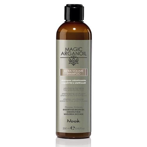 Купить Шампунь для придания объёма тонким и наэлектризованным волосам Extra Volume Shampoo, Nook (Италия)