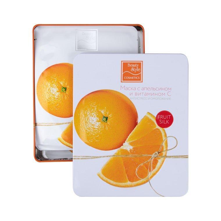 Купить Маска с апельсином и витамином С Антистресс и омоложение Fruit Silk, Beauty Style (США)
